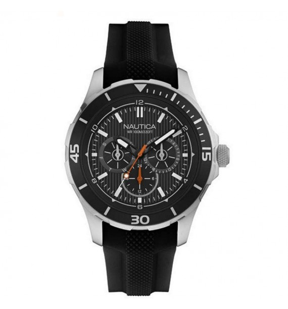Orologio Nautica Uomo con cinturino in caucciù nero NAI13523G
